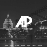 Website Preview AlbrechtProductions