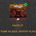 "Spotify Playlist ""Funk Ya Soul"""