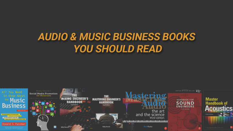 Audio & Music Business Books OG Image