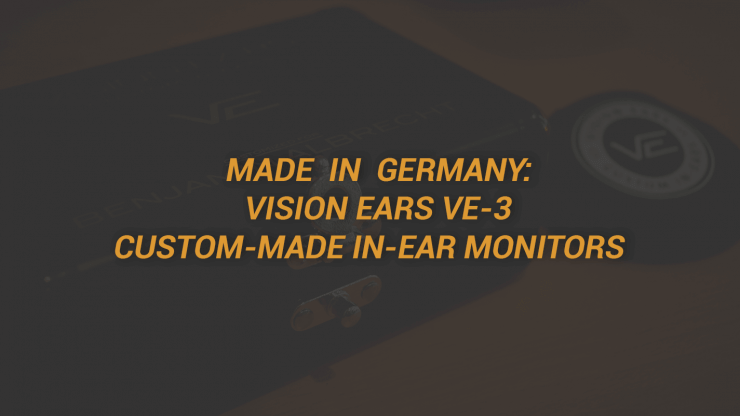Vision Ears In Ear Monitors