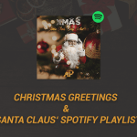 Christmas Greetings & Santa Claus' Spotify Playlist