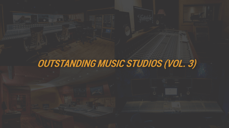 Outstanding Music Studios (Vol. 3)