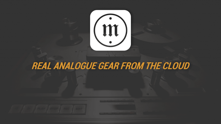 Mix:analog - Real Analogue Gear From The Cloud