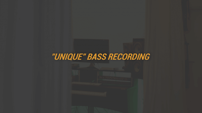 Unique Bass Recording