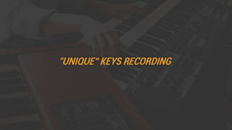Unique Keys Recording